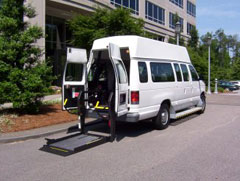 Ford E250 Extended Van - Wheelchair Van Conversion